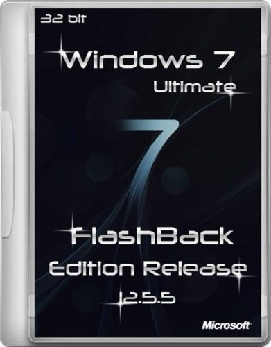 Windows 7 SP1 Ultimate FlashBack Edition Release 12.5.5 (х86/RUS/2012)