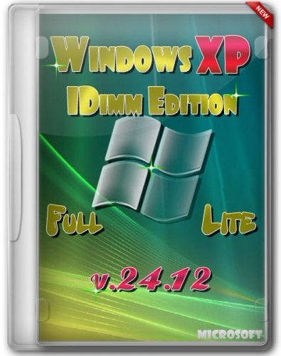Windows XP SP3 IDimm Edition Full/Lite 24.12 RUS (VLK)