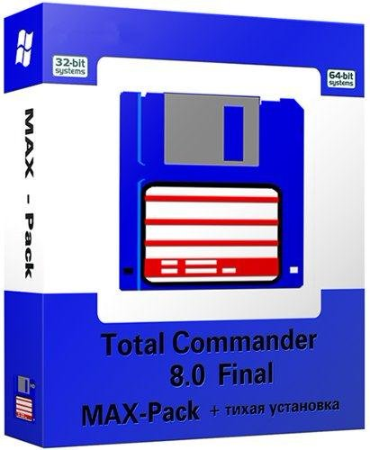 Total Commander 8.0 Final x86/x64 [MAX-Pack 2012.5.4] от 28.05.2012 + тихая ...