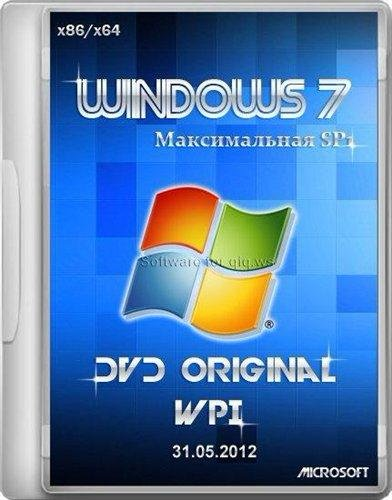 Microsoft Windows 7 Максимальная SP1 x86/x64 DVD Original WPI 31.05.2012
