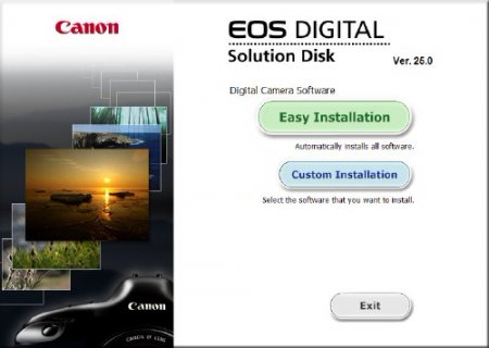 Canon EOS DIGITAL Solution Disk 25.0