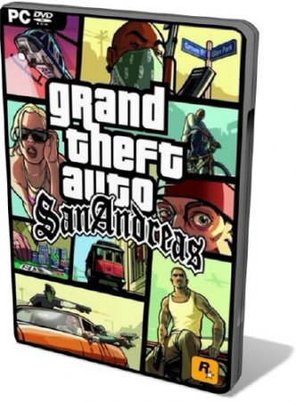 GTA San Andreas + MultiPlayer v0.3e (2012) PC