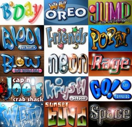 Gopass New Fonts Pack Collection