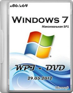 Microsoft Windows 7 Максимальная SP1 x86/x64 WPI - DVD 29.05.2012 by UZEF