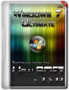 Windows 7 Ultimate UralSOFT v.7.5.12 (x64/RUS/2012)
