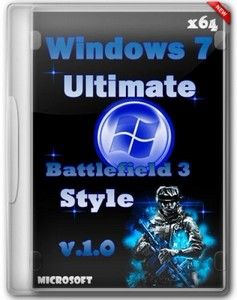Windows 7 x64 Ultimate Battlefield 3 Style v.1.0 (2012/Rus)