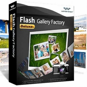 Wondershare Flash Gallery Factory Deluxe 5.2.1 Portable