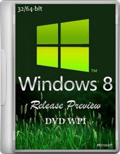 Windows 8 Release Preview 32/64-bit DVD WPI 06.07.2012