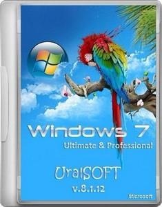 Windows 7 Ultimate & Professional UralSOFT v.8.1.12 (x86/x64/RUS/2012)