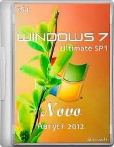 Windows 7 Ultimate SP1 x64 Novo (Август 2012) + MSDaRT + Acronis