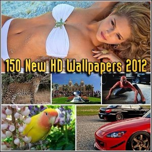 150 New HD Wallpapers 2012