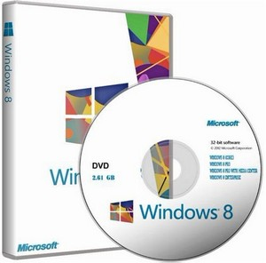Windows 8 4-in-1 x86 + Windows 8 Pro with Media Center (en-us/ru-ru/uk-ua)