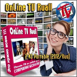 OnLine TV Ruall 2.43 Portable Rus