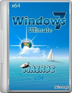 Windows 7 Ultimate x64 Matros 04 (RUS/2012)