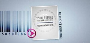 Visual Resume Alpha - Animated Curriculum - Project for After Effects (Vide ...