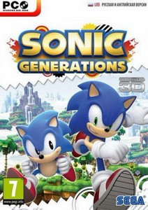 Sonic Generations (v.1.0.0.5 + 1 DLC) (Upd.25.09.2012) (2011/RUS/ENG/RePack ...