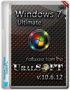 Windows 7  Ultimate UralSOFT v.10.6.12 (x64/RUS)