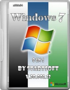 Windows 7 SP1 8in1 By StartSoft v.30.002.12 (x86/x64/RUS/2012)