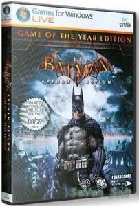 Batman: Arkham Asylum Game of the Year Edition (2010/RUS/ENG) RePack от R.G. Revenants