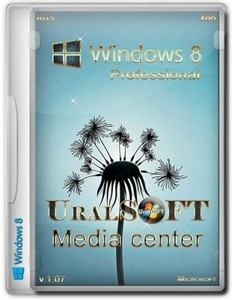 Windows 8 Professional & Media Center UralSOFT v.1.07 (x86/RUS)