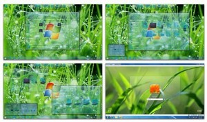 Glass Skin Pack 1.0 for Windows 7 x86/x64
