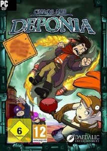 Chaos on Deponia (2012/ENG)
