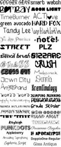 Font Collection 2012