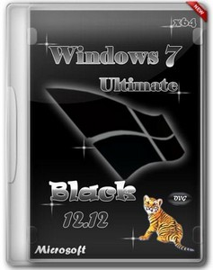 Windows 7 Ultimate x64 SP1 Black by OVGorskiy® 12.12 (2012/RUS)
