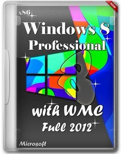 Windows 8 Pro with WMC x86 Full (RUS/2012)