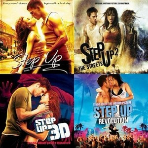VA -  Step Up 1 - 4  (2006-2012)  OST