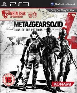 Metal Gear Solid 4: Guns of the Patriots. 25th Anniversary Edition (2012/EU ...