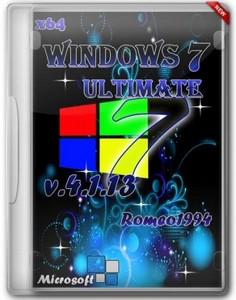 Windows 7 x64 Ultimate by Romeo1994 v.4.1.13 (2013/RUS)
