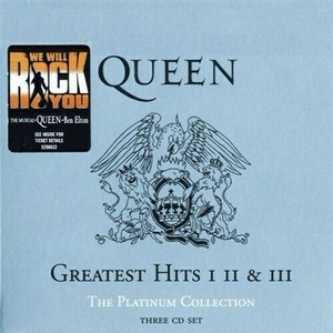 Queen - The Platinum Collection Greatest Hits (2000) 3 CD / FLAC