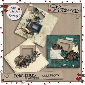 Scrap Set -  Felicitous QuickPages