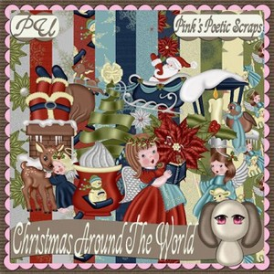Scrap Set - Christmas Around The World