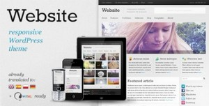 ThemeForest - Website v2.1 - Responsive WordPress theme