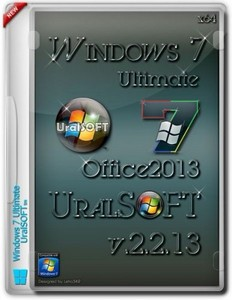 Windows 7 x64 Ultimate Office2013 UralSOFT v.2.2.13 (2013/RUS)