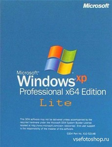 Windows XP Professional x64 SP2 (RUS/ENG)