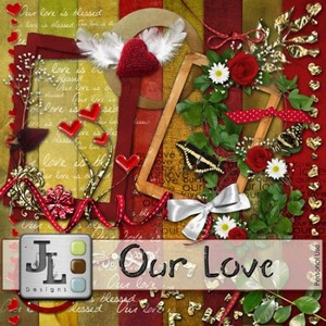Scrap Set - Our Love PNG and JPG Files