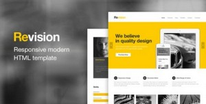 ThemeForest - Revision - Responsive HTML5 Template
