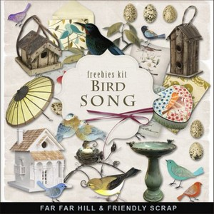Scrap-kit - Bird Song
