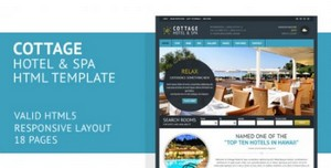 ThemeForest - Cottage Responsive Hotel Template