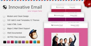 ThemeForest- Innovative E-mail Template