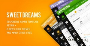 ThemeForest - Sweet Dreams - Premium Admin Template