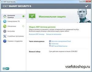 Название ESET NOD32 Antivirus & Smart Security 6.0.314.2 Final Год