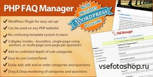 CodeCanyon - FAQ Manager (Standalone or integrate to Wordpress)