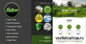 ThemeForest - Nature - Responsive HTML5 Onepage Template