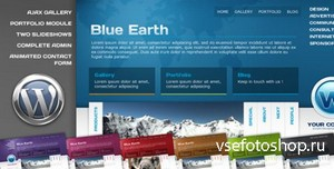 ThemeForest - Blue Earth Wordpress theme