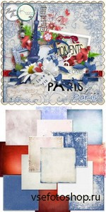 Scrap Set - Collab Paris PNG and JPG Files