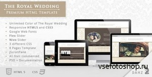 ThemeForest - The Royal Wedding - Premium HTML Template - RIP